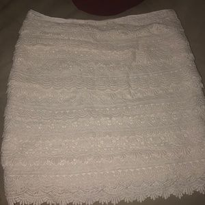 Lacey work skirt